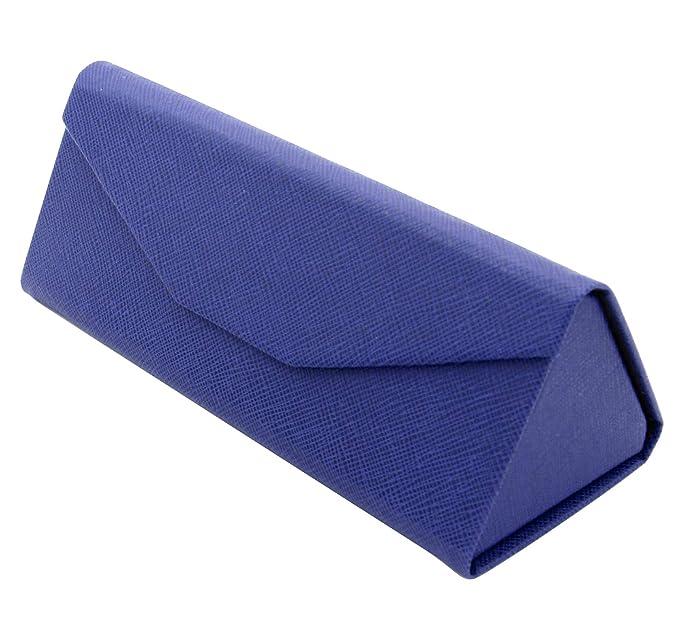 TBOC Funda Plegable Gafas de Sol - Estuche [Azul] Rígido ...
