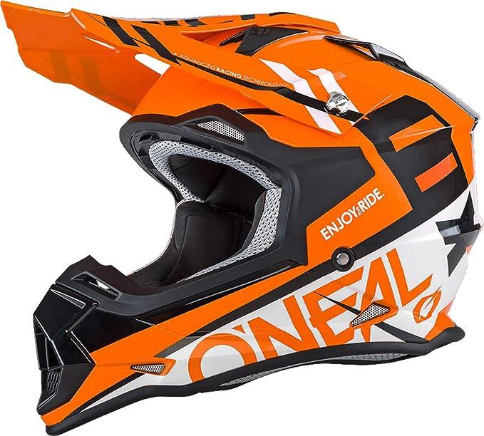 maschera cross Casco moto cross enduro O/'neal Serie 2 Slick