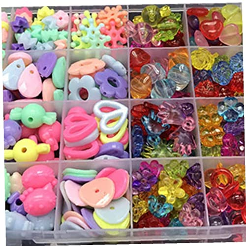 Los granos de plástico de fábrica de Artesanía-Surtido de Colores
