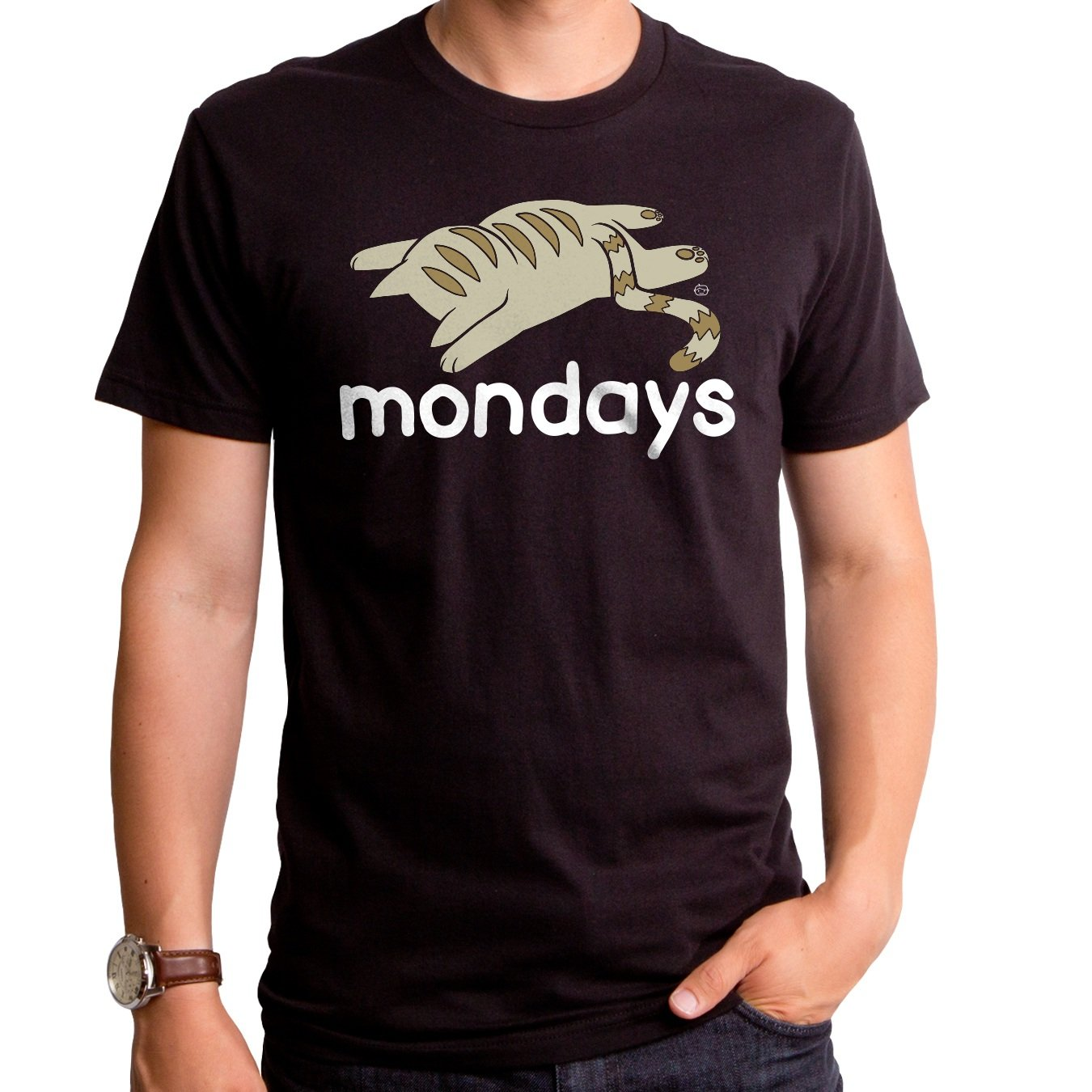 Goodie Mondays Sblack Short Sleeve S Crew Shirts