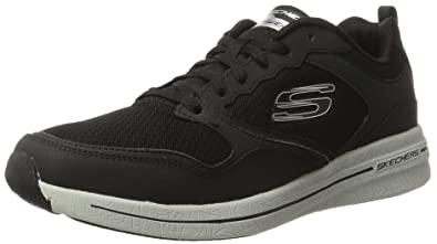 Mens Qtr Overlay Lace up W/Air-Coo Multisport Outdoor Shoes Skechers 9U15wtZl