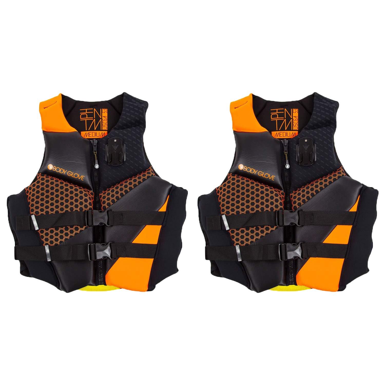 円高還元 Body Glove Phantom オレンジ ネオプレン Body ライフジャケットベスト 2 XL Phantom 2 B07J44XV4R, マルオカチョウ:45b2c011 --- a0267596.xsph.ru