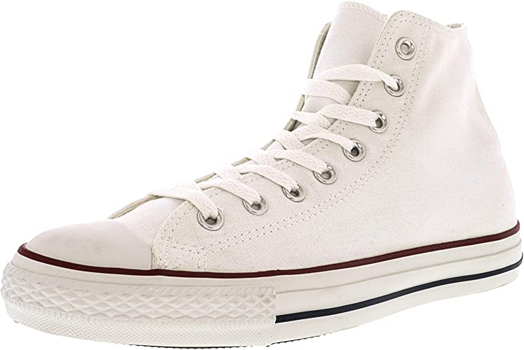 Mens Converse Shoes Chuck Taylor II All Star Hi Top White Canvas Shoes NEW