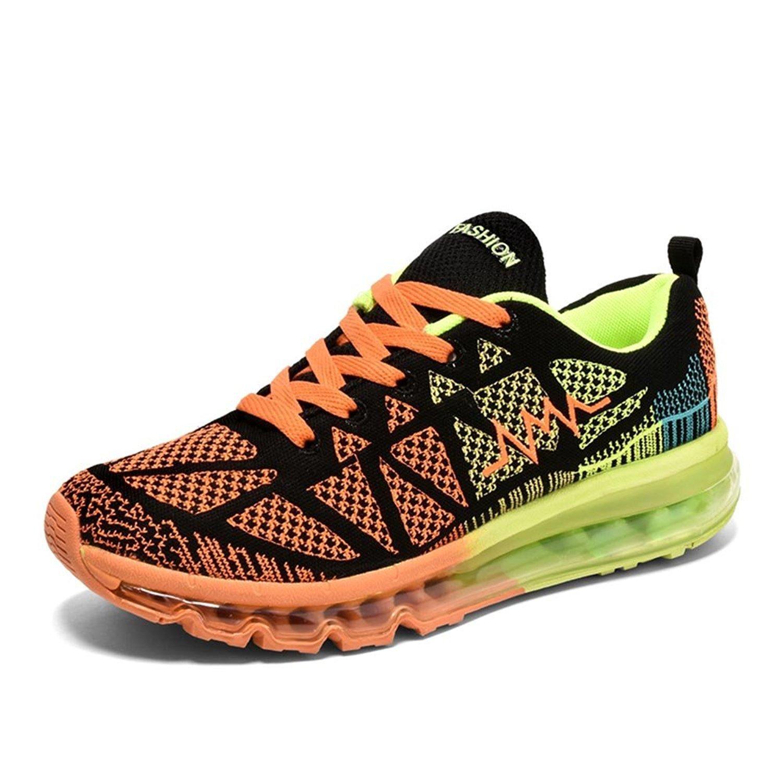 TALLA 42.5 EU. MayFlow Zapatillas para Correr EN Montaña de Lona para Hombre