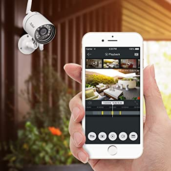 Funlux all-in-one security camera hd video