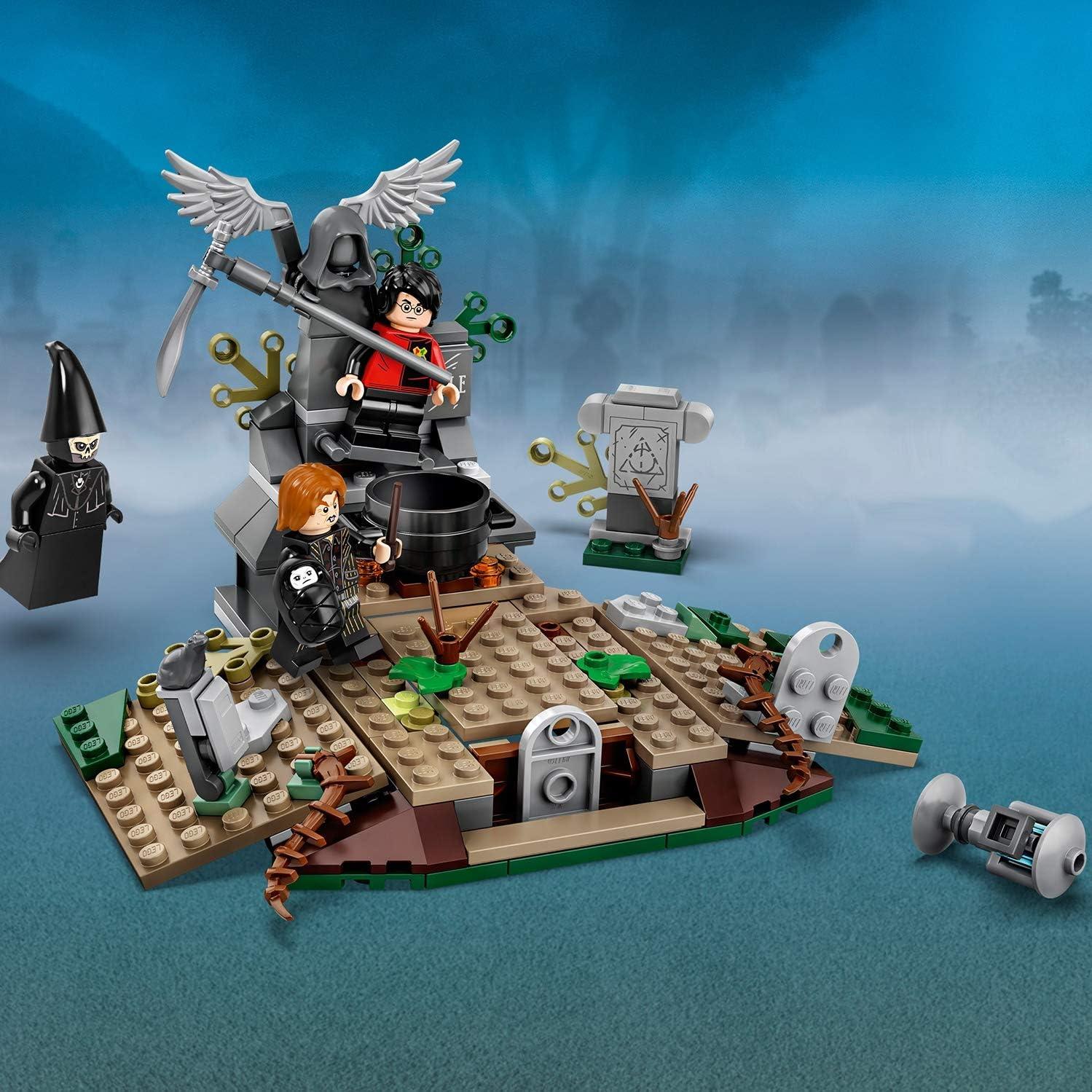 Lego Harry Potter La coupe de feu Voldemort Building Set Hangleton cimetière