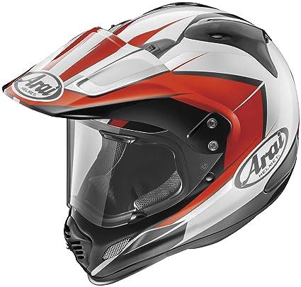 f37a7703 Amazon.com: Arai XD4 Flare Dual Sport Helmet-Red-XL: Automotive