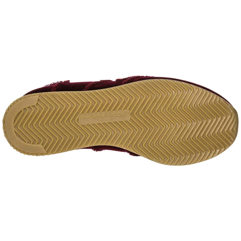 Philippe Philippe Philippe Model scarpe da ginnastica Tropez Donna Bordeaux 3fb9eb