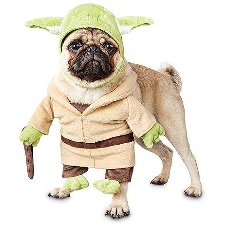 Amazon.com: Petco Star Wars Yoda Illusion Disfraz de perro ...