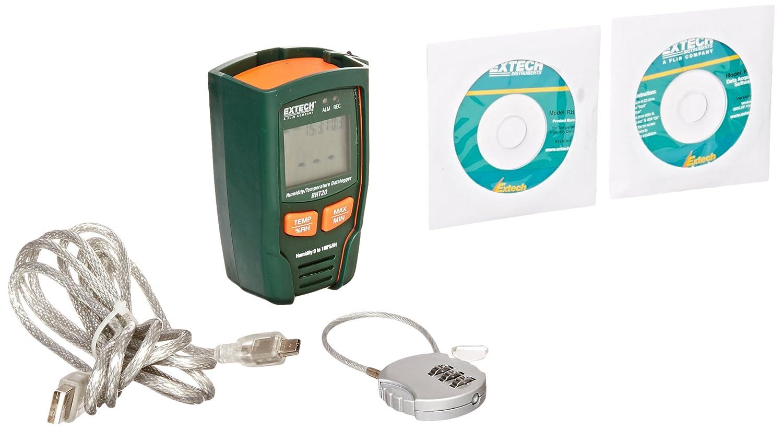 Extech Instruments RHT20 - Registrador de datos de humedad y ...