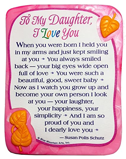 Amazon Sculpted Magnet To My Daughter I Love You 66060 X 66060 Interesting Pictures I Love My Daughter