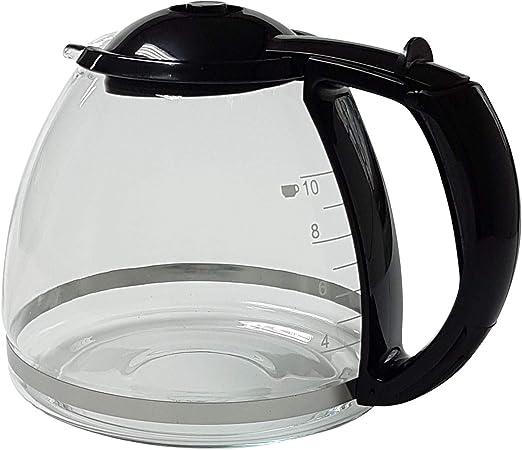 Jarra de cristal negra para cafetera Bosch Siemens TKA14 TKA28 ...