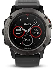 Garmin Fenix 5X - Sapphire, Slate Gray (Certified Refurbished)