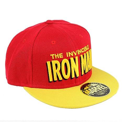 Marvel Comics Iron Man para hombre gorra snapback - The de Iron ...