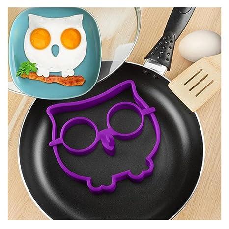 Moldes para panqueques y omelet, Transer® 2017, utensilios de cocina de silicona,