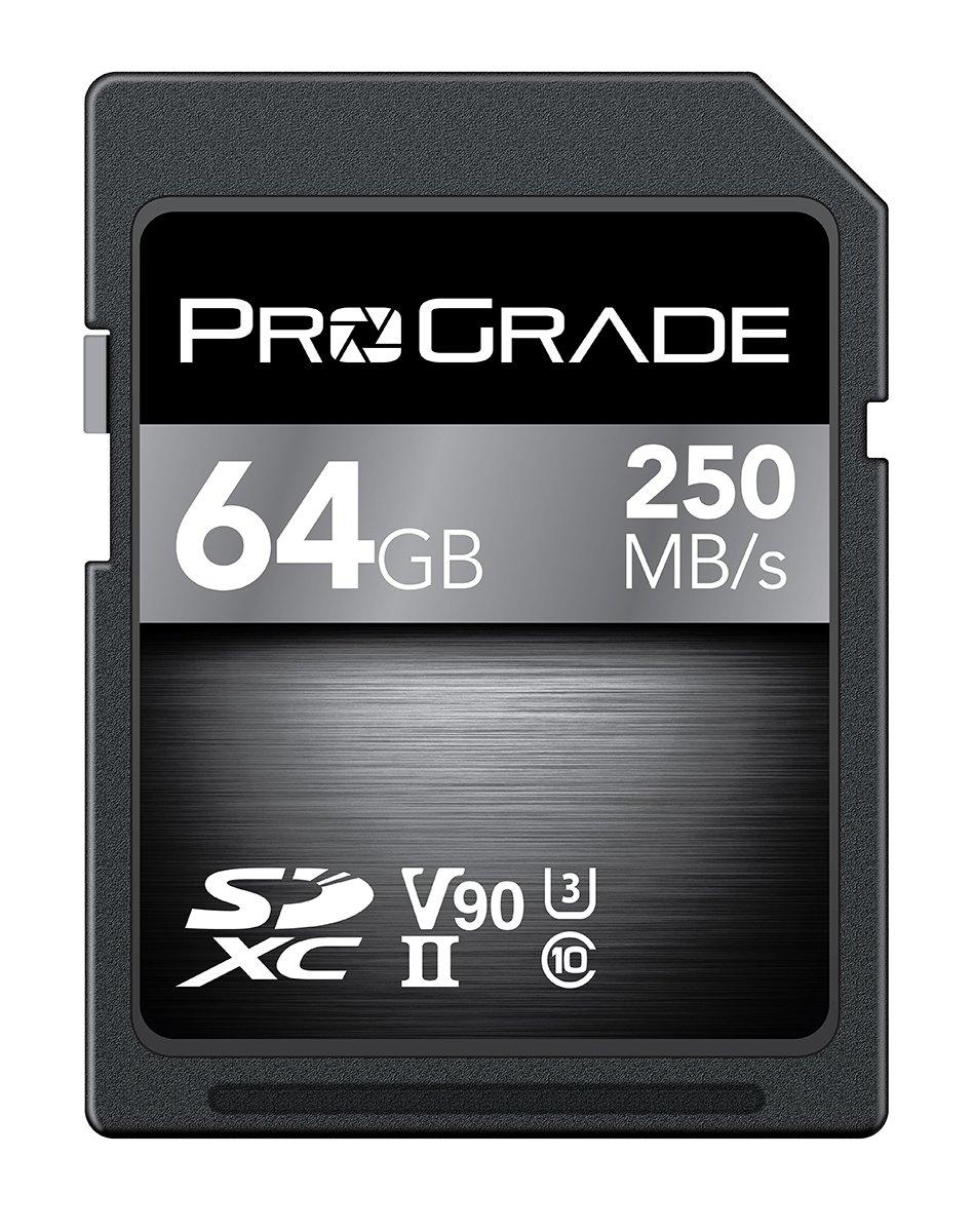 ProGrade Digital Incorporated Scheda di memoria SDXC UHS-II V90 digitale da 64 GB PGSD64GBCJNA