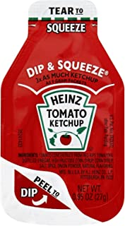 product image for Heinz Ketchup Dip & Squeeze Single Serve Packets (0.95 oz Packets, Pack of 500)