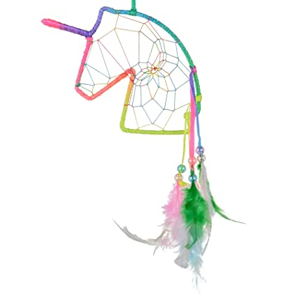 Amazon Unicorn Profile Dream Catcher Rainbow Home Kitchen Mesmerizing Truth About Dream Catchers