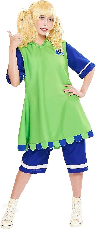 Amazon Com Disney S Monsters Inc Mike Wazowski Costume Teen Women S Std Size Green Blue Clothing