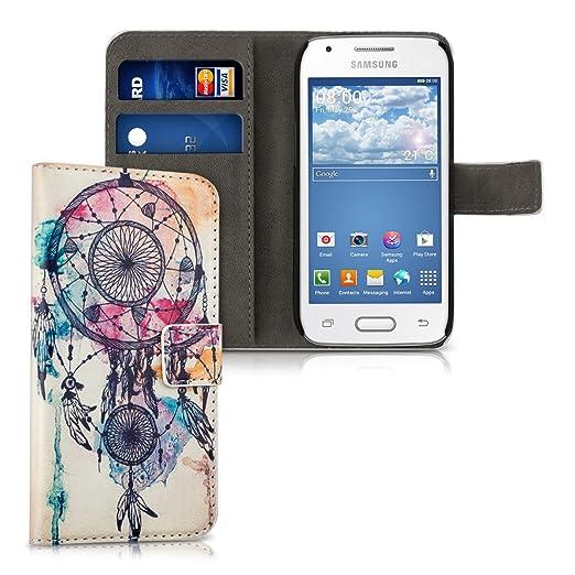 3 opinioni per kwmobile Custodia portafoglio per Samsung Galaxy Ace 4 (G357h)- Cover a libro in