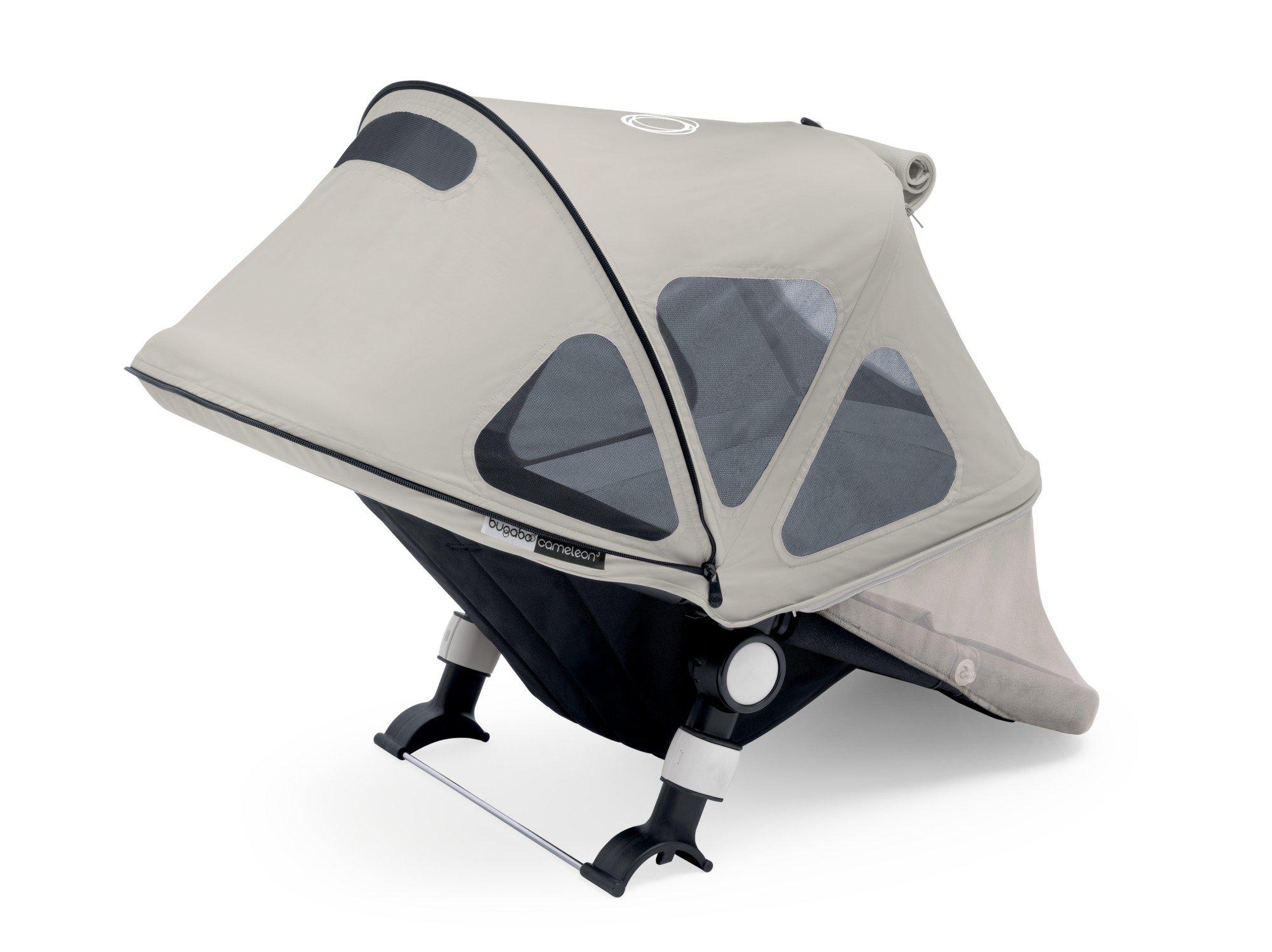 Bugaboo Cameleon Breezy Sun Canopy, Artic Grey