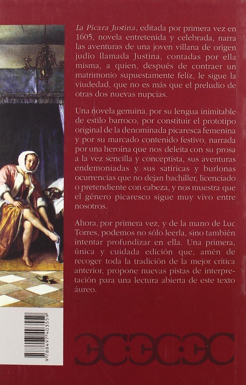 pícara Justina, La (Clásicos Castalia. C/C.): Amazon.es: Luc Torres, Francisco López de Úbeda: Libros