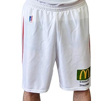 Spalding Cholet - Pantalones Cortos de Baloncesto para Hombre ...