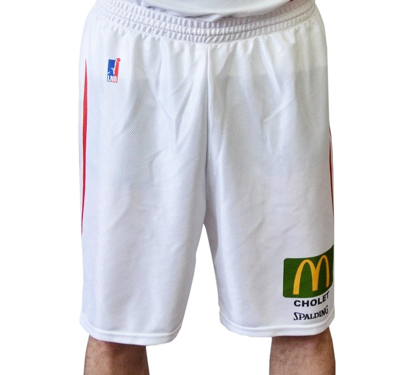 Spalding Cholet – Pantalones Cortos de Baloncesto para Hombre ...