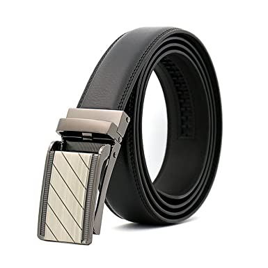 KEBINAI Fashion men leisure automatic buckle belt cinto masculino couro  Comfort Click belt leather men s belt 985de6b4178