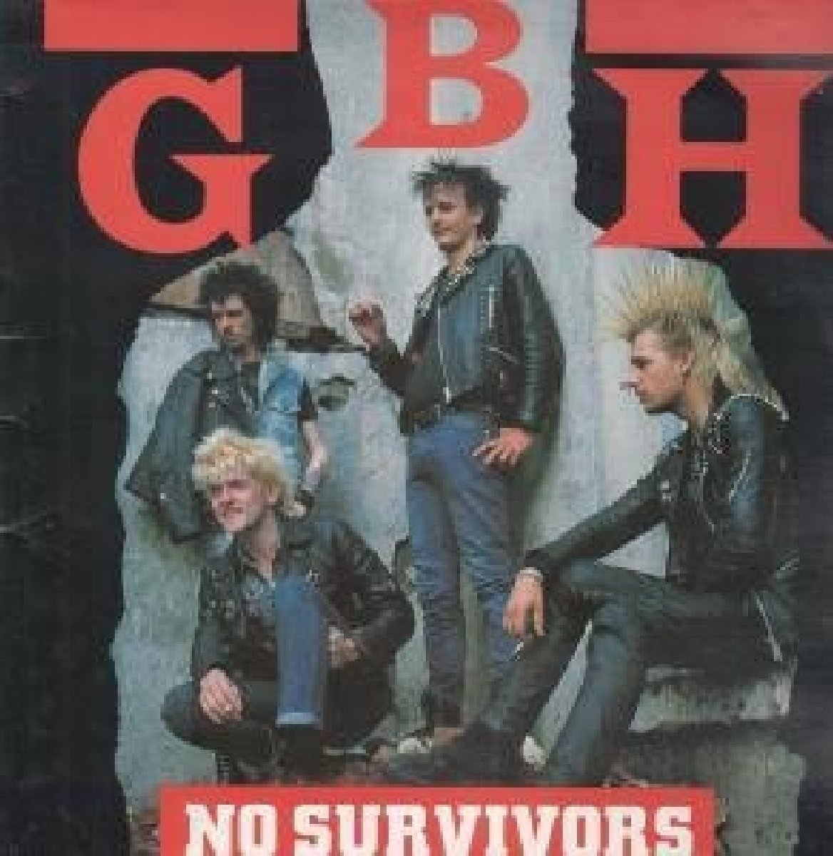 Vinilo : G.B.H. - No Survivors (Limited Edition, Red, Special Edition, Reissue)