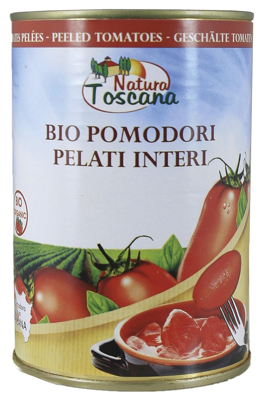 Probios Natura Toscana Tomates Pelados - 12 estanos: Amazon.es: Alimentación y bebidas