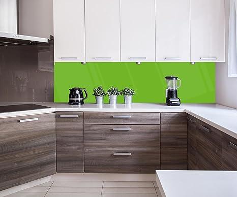 Retrocucina muro backboard cucina verde calce design m x