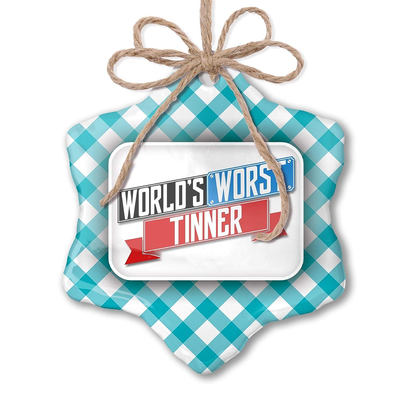 Christmas Tinner.Amazon Com Neonblond Christmas Ornament Funny Worlds Worst