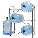 5 Gallon Water Bottle Glass Plastic Jug Rack Holder Storage Shelf Garage Kitchen Stand Heavy Duty Super Light Versatile Portable Space Saver