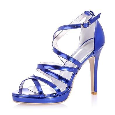 Elegant Club Shoes5915 31 Frauen Schuhe Heels High Leder yIY76bfgv