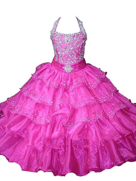 sistars Principessa Ragazze Crystal abiti di ballo dei abiti da sera regalo  per bambini 2 a 1cbab57fb79