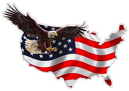 amazon com nostalgia decals american eagle united states magnet