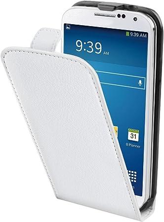 Muvit - Funda con Tapa para Samsung Galaxy S5 Mini, Color Blanco: Amazon.es: Electrónica