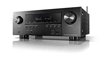 Denon AVR-S940H Receiver, 185W Power, 7 2 Channel 4K Ultra HD Video,  Amazing 3D Dolby Surround Sound, Music Streaming System, Alexa Control,  HEOS
