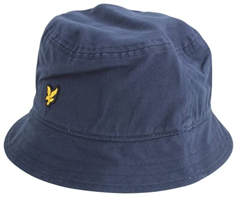 ad76e01b67d87 New Navy Cotton Twill Bucket Hat by Lyle and Scott  Amazon.co.uk  Clothing