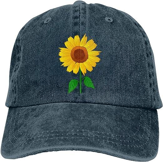 Cute Sunflower Baseball Cap Adjustable Vintage style