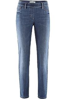Dehnbund Innenbeinlänge 78 cm Stehmann Jeans Sissi viele Farben Pull-on