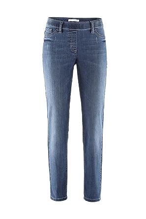 Stehmann Jeans Sissi - viele Farben - Pull-on, Innenbeinlänge 78 cm,  Hosengröße