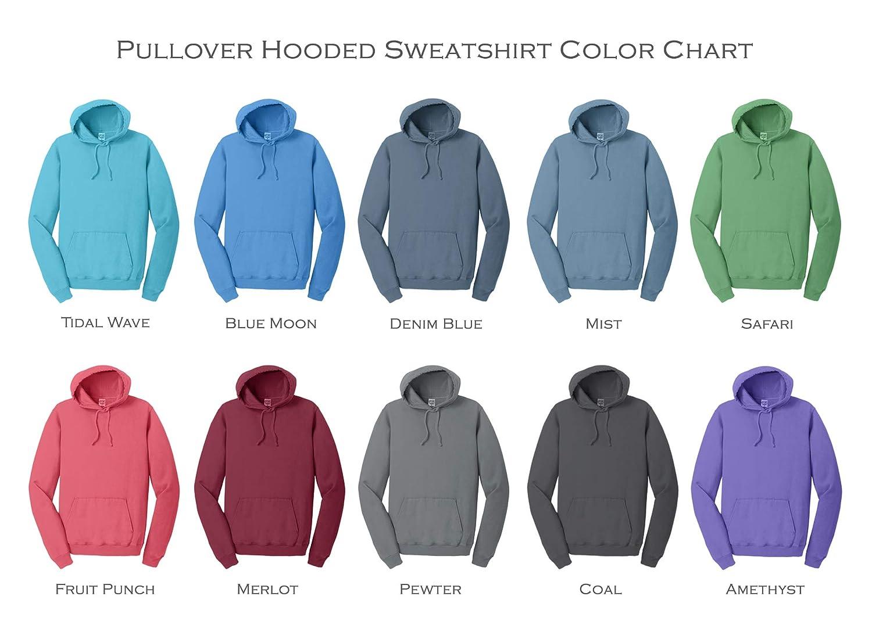 Phi Alpha Delta Vintage Color Pullover Hooded Sweatshirt
