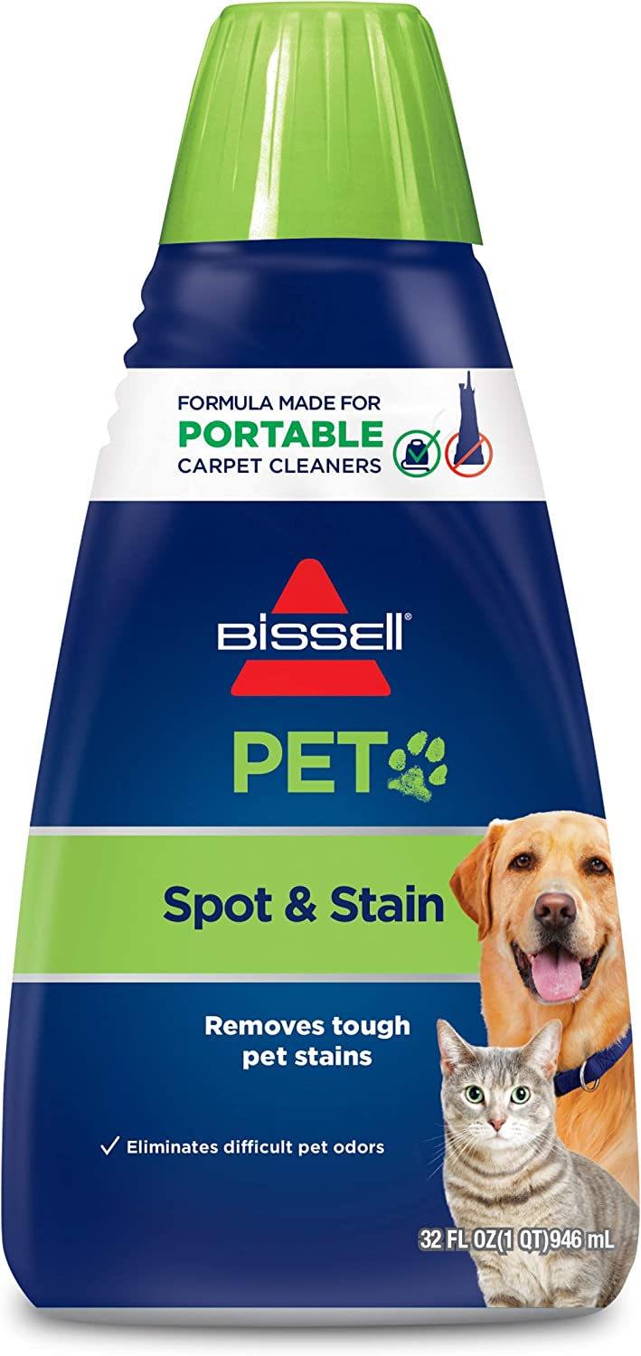 Bissell 2x Pet Stain Odor Portable Machine Formula 32 Ounces 74r7