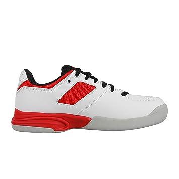 Diadora Niños Speed Challenge 2 ID Junior Zapatillas De Tenis Zapatilla para Pista Cubierta Blanco - Rojo 39: Amazon.es: Deportes y aire libre