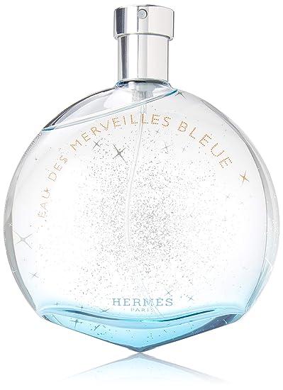 Spray Merveilles 100ml3 Hermes 3oz Des Bleue Eau De Toilette wk0X8nOP