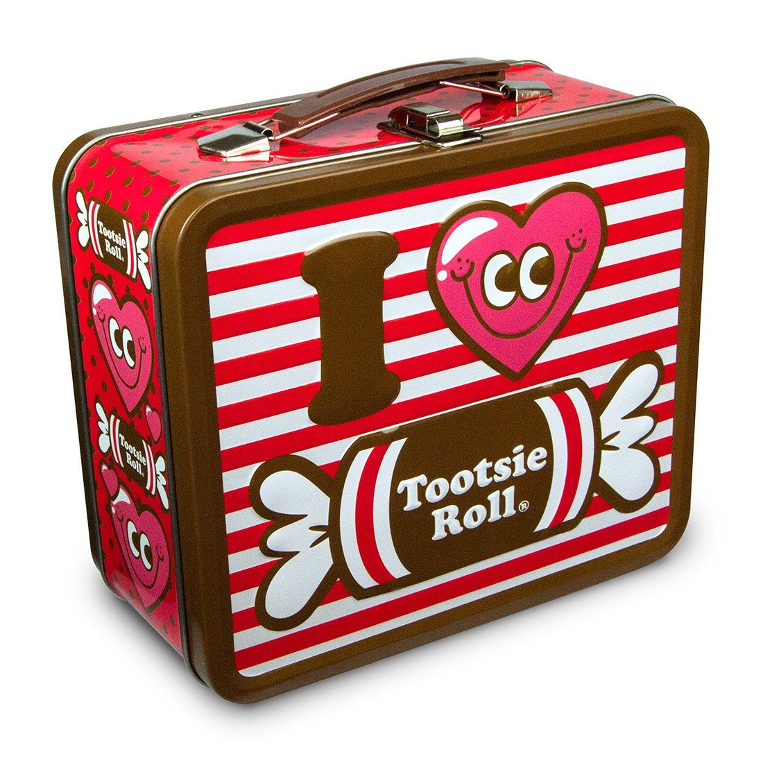 Tootsie Lunch Box I Love Roll New Metal Tin Case tlb0046 Loungefly