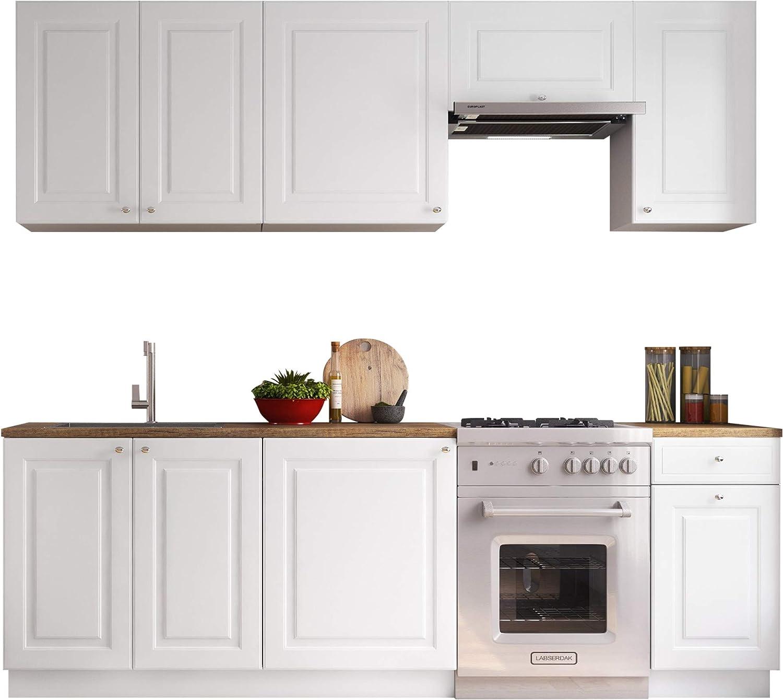 Küche Belani II, 12 Schrank-Module frei kombinierbar, Küchenblock