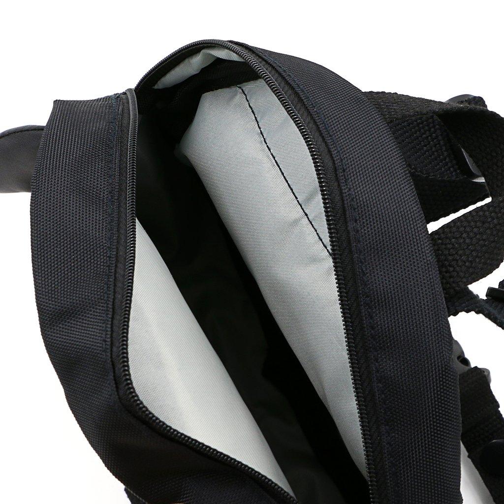 IGNPION Kinder-Rucksack mit Bauchgurt und Leine Motiv (Pinguin)